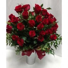 PF-254: Three Dozen Red Roses ($175.00)