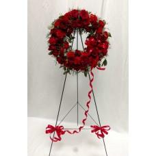 PF-640: Ruby Red Wreath ($200.00)