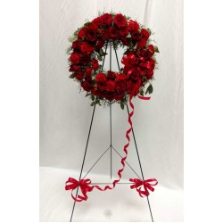 PF-640: Ruby Red Wreath ($200.00)